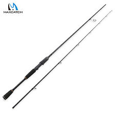 Spinning Rod 2.1m/7' Fast Action 2Pieces Fishing Carbon Line 4-20lbs 1/4-3/4oz