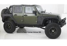 Smittybilt XRC Complete Front & Rear Corner Armor Kit for 07-17 Jeep Wrangler JK