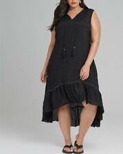TS Plus Size Taking Shape White off The Shoulder 100 Cotton Dress Size 18
