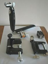 Rowi Camera clamps made in West Germany & Haiser L bracket folding grip mount