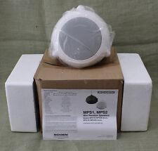 New listing New Bogen Orbit Mini Pendant Hanging High Ceiling Speaker Mps1W Loudspeaker