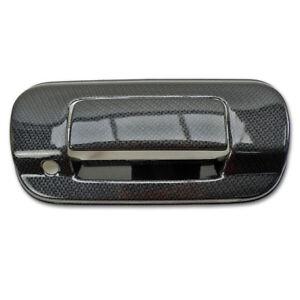 Rear Bowl Tailgate Cover Trim Black Carbon Fits Chevrolet Colorado 2016 - 2018