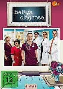 Bettys Diagnose - Staffel 2 (3 DVDs) von Sabine Bernardi...   DVD   Zustand gut