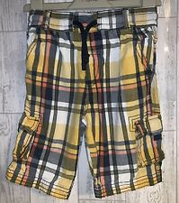 Boys Age 5-6 Years - Checked Shorts