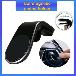 Car Mobile Fastening Stand Phone Holder For Smartphone Magnetic Magnet Auto