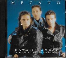 Mecano – Hawaii - Bombay y Otros Grandes Éxitos CD  Album 1991