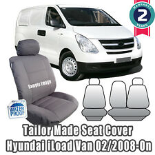 New Hyundai iLoad Tailor Made Car Seat Covers 2008-on Front Row Cool Grey