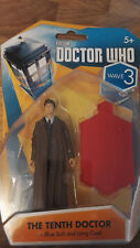 DOCTOR WHO THE TENTH DOCTOR IN BLUE SUIT AND LONG COAT - NEW