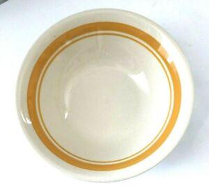 """Conjunto de 6 Crown Ming Porcelana Fina Clásico Oro cereales o frutas tazones 8/"""""""