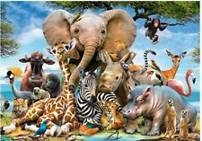 Hot Animal world Educational 1000 Piece Jigsaw Puzzles  Adults Kids Puzzle Toy