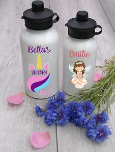 Custom printed and personalised kids aluminum water bottles
