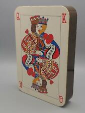 Vintage Perugina Empty Playing Card Shaped Candy Box Packaging Advertising