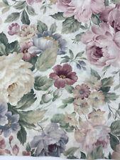 Burlington Damask Rose Floral Window Valance 88 X 15.5