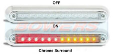 LED Autolamps 12V sottile compatta superficie MOUNT REAR STOP TAIL spia luminosa