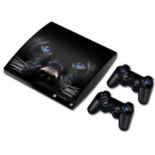 TN0105*Vinyl Decal Skin Sticker Cover For PS3 PlayStation 3 Slim+2 Controllers