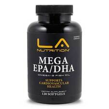 Triple Strength Fish Oil 3000mg omega-3 EPA & DHA 120 Soft Gels Bodybuilding
