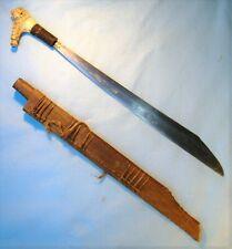 New ListingNice Old Antique Borneo Indonesian Sword Mandau / keris dagger