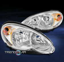 FOR 2006-2010 CHRYSLER PT CRUISER REPLACEMENT HEADLIGHTS HEADLAMPS LAMPS CHROME