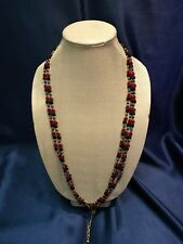 SUPER RARE Vintage Murano Glass Handmade Necklace - MADE IN ITALY - Vintage