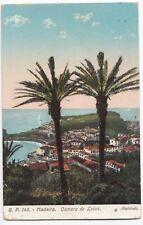 Madeira; Camara De Lobos PPC,  1912 London Paquebot PMK