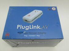 Asoka White Plug Link AV Adapter PL9667-83