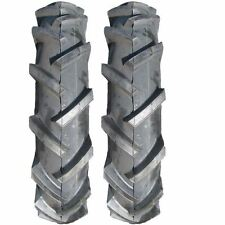 Two New 4.00-8 Deestone 4 ply Gravely Lawn Garden Tractor Lug 4.80-8 Tires