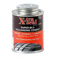Tyre Repair Vulcanizing Cement / Glue - 250ml Blue Cement - Extra Strong Bonding