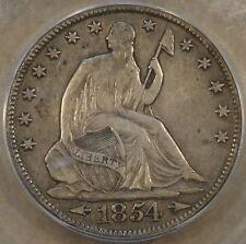 1854-O Arrows Seated Liberty Half ICG XF40