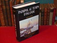 [BRETAGNE MER MARINS] KERLEVEO/ PAIMPOL TEMPS D'ISLANDE Rare reprint THESE 1944