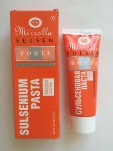 Sulsen pasta forte Mirrolla anti dandruff seborrheic dermatitis 75 ml sulsena