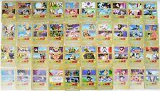 """Dragon Ball Z """"40 carte diverse n°consecutivi da 1/9 e 30/60"""" serie GOLD GPZ"""