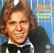 """7"""" 1974 MINT- ! JÜRGEN MARCUS : Der Grand Prix D´Amour"""