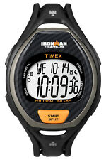 Timex T5K3359J Ironman Sleek 50 Lap Chronograph - Black/Carbon
