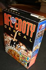 1996 AFL Footy Cereal Box with cards on panel Carlton Collingwood Geelong WCE