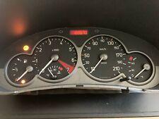 169670km Sport velocímetro peugeot 206 (2 conector) cc XS s16