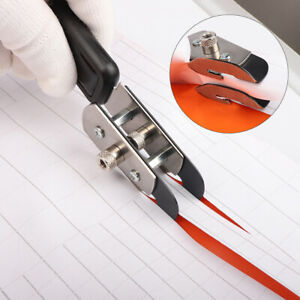 Double Head Blade Cutter + 10 Blade Vinyl Car Wrapping Sticky-free Coated Cutter