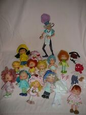 Vintage Strawberry Shortcake 12 dolls PLUS clothes - Cute !