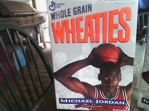 MICHAEL JORDAN unopened 1994 WHEATIES Collectors Edition Box lot of 2