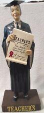 Distillery Teacher's Highland Cream Scotch Backbar figure near mint 1940's