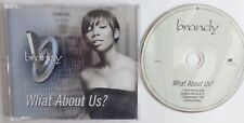 BRANDY - WHAT ABOUT US 2002 ENHANCED CD SINGLE.