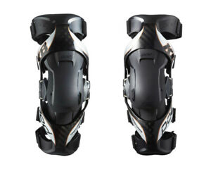 NEW 2021 POD K8 2.0 KNEE BRACES PAIR+FREE BAG MX ENDURO ADULT BLACK