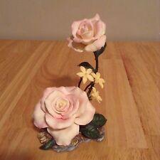 "Lenox Garden Flower Porcelain Figurine ""Peace Rose "" Hard to find"