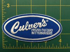 Culvers patch FROZEN CUSTARD & BUTTERBURGERS RESTAURANT LOGO patch iron on