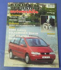 Revue technique automobile rta 599 (1997) Ford galaxy volkswagen sharan diesel