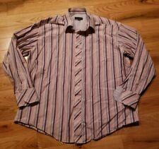 Ted Baker London Multicolor Striped Dress Shirt Men's Size 17 1/2 34/35