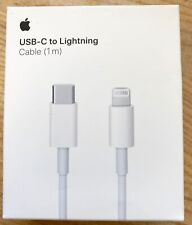 Apple OEM USB-C to Lightning Cable 1m iPhone-White-Brand New