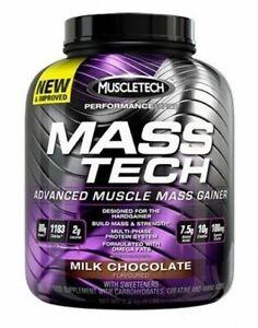 (15,59€/1kg) Muscletech Mass Tech - Muscle Masstech Weight Gainer 3200g 3,2kg