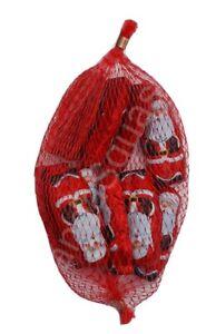 10 CHOCOLATE SANTAS NETTED XMAS 70g Stocking filler Santa Gift L@@K