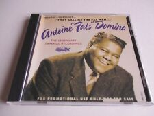 FATS DOMINO CD SAMPLER From The Box THEY CALL ME THE FAT MAN  12 TRACKS 1991 NEW