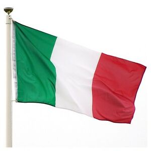 5x8 ft Flag of Italy Italian Tricolor Flag Rough Tex Knitted 5'x8' banner